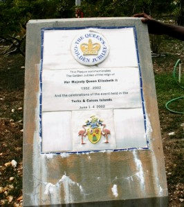 Honouring the Queen in the Turks and Caicos