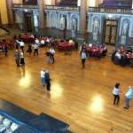 tea dance in St George's Hall Liverpool