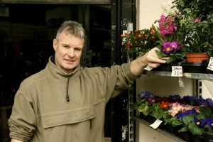 Frank outside Impulse Flowers which closes in March.